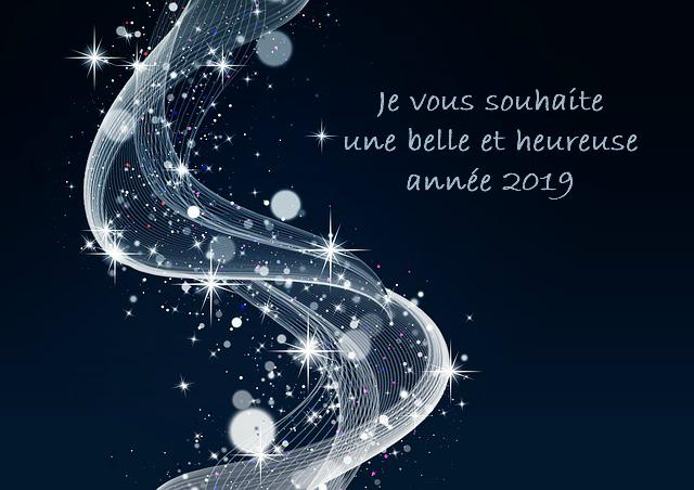 un chemin étoilé pour la nouvelle année